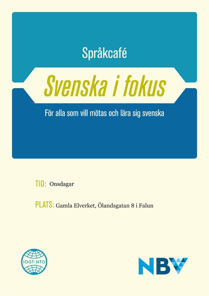 Spr�kcaf� - Svenska i fokus